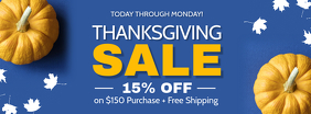 Thanksgiving Sale Facebook Cover Photo