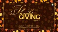 thanksgiving service 数字显示屏 (16:9) template