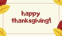 Thanksgiving Template Merker