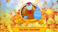 Thanksgiving Turkey Facebook template