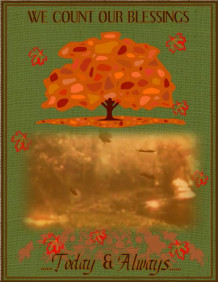 Thanksgiving Video Flyer