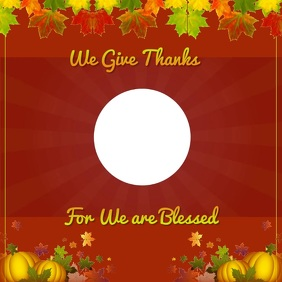 Thanksgiving Video Message