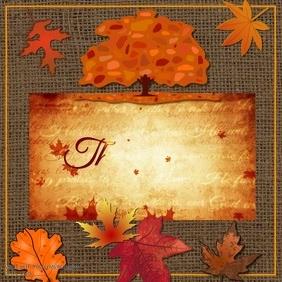 Thanksgiving Video Poster