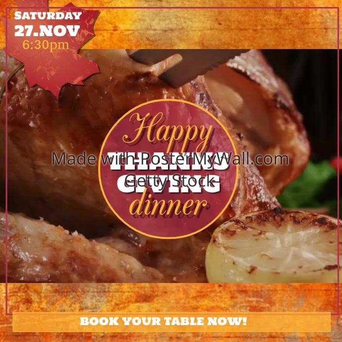 Thanksgiving video1