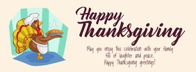 Thanksgiving wishes Foto Sampul Facebook template