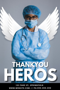 Thankyou Heros Poster