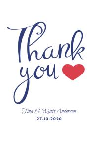 Thankyou Poster