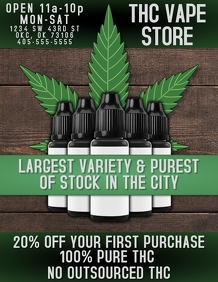 THC VAPE STORE AD RETAIL