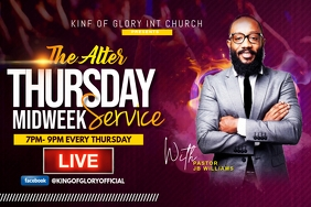 THE ALTER THURSDAY MIDWEEK SERVICE FLYER