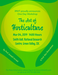 The Art of Horticulture - Workshop