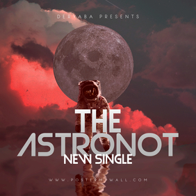 The Astronot CD Cover Template