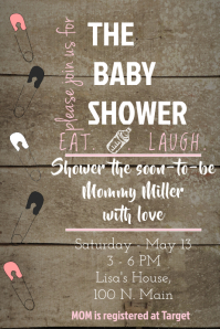 The Baby Girl Shower Invite