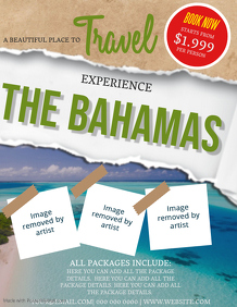 The Bahamas Travel Flyer Template