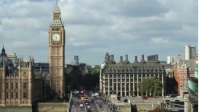 the big ben in london [ENGLAND] YouTube Thumbnail template