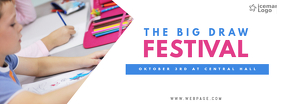 the big draw Festival Facebook Cover Template