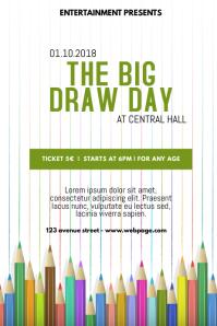 the big draw flyer
