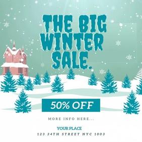 The Big Winter Sale Flyer VIDEO