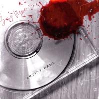 The Blood CD Mixtape Album Cover Template Portada de Álbum