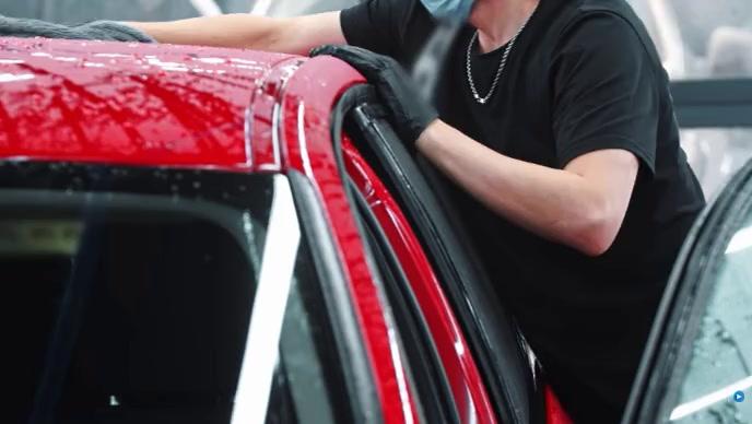 the car wash vedio YouTube 缩略图 template