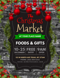 The Christmas Market Flyer