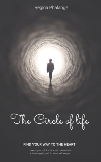 The Circle of life book cover template Kindle/Book Covers