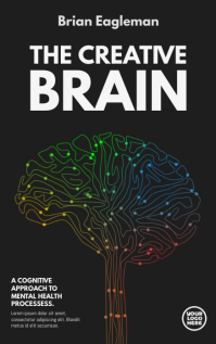 The Creative Brain Book Cover Kindle 封面 template