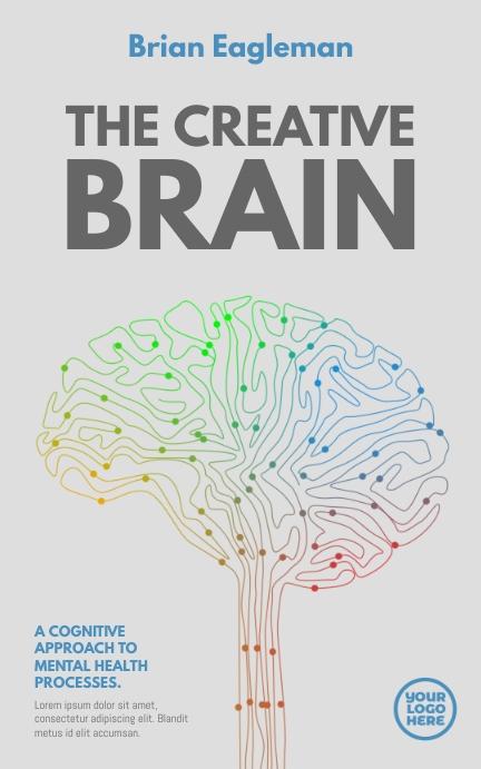 The Creative Brain White Book Cover