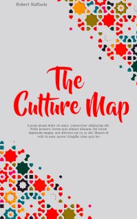 The Culture Map Book Cover Tempalte Sampul Buku template