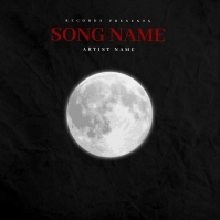 The Dream Moon album cover template