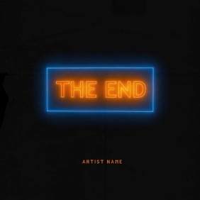 THE END mixtape cover video template