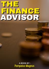 THE FINANCE ADVISOR book cover A4 template