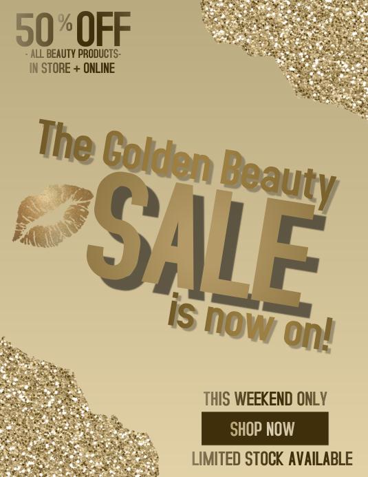 The Golden Beauty Sale