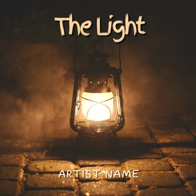 The light Album Art 专辑封面 template