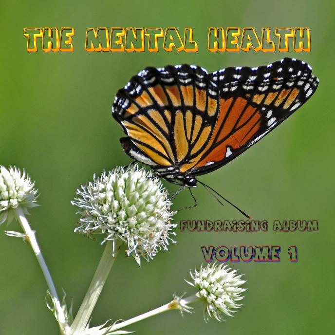 The Mental Health Fundraising Album 1 Portada de Álbum template