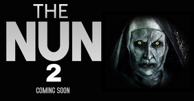 THE NUN 2 HORROR TEMPLATE Facebook Ad