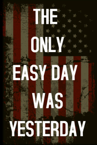 THE ONLY EASY DAY WAS YESTERDAY: MALAYSIA BOOK OF RECORD |The Only Easy Day Was Yesterday Book