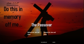 The Passover ad FACEBOOK SOCIAL MEDIA BANNER