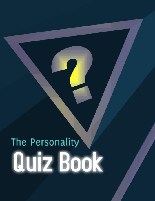 The Personality Quiz Book Flyer (US Letter) template