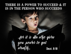 The power for wealth