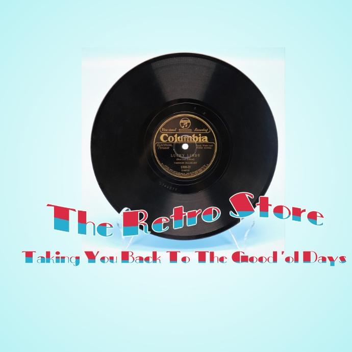The Retro Store Logo template