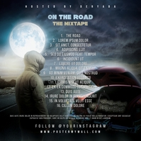 The Road CD Cover Back Tracks Template Albumcover