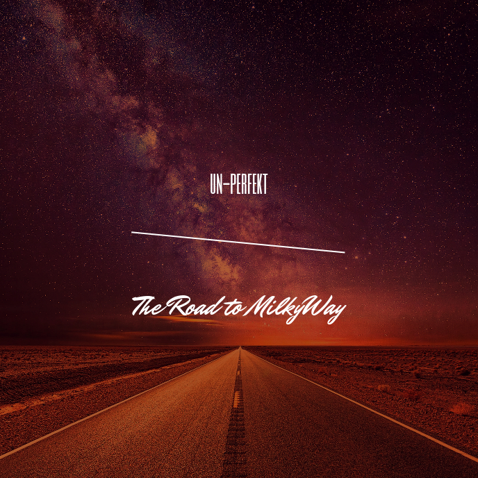 The Road to Milky Way CD Cover Template