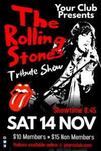 The Rolling Stone Tribute Show poster
