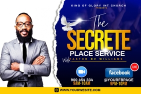 The secrete place flyer