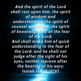 The Seven Branches of the Spirit of God