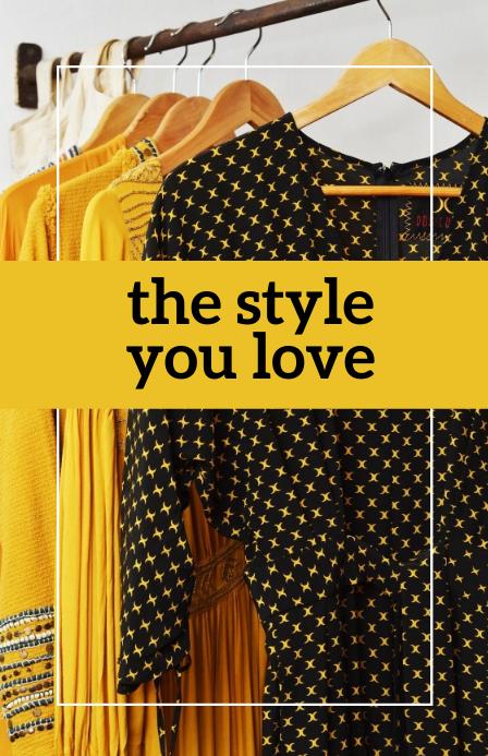 The Style You Love Templates แทบลอยด์