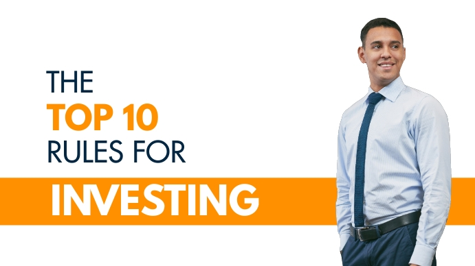 the top ten rules for investing YouTube Duimnael template