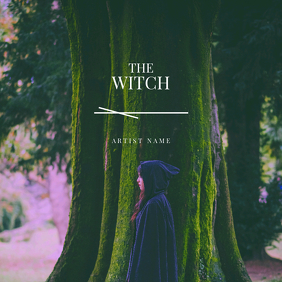 The Witch CD Cover template