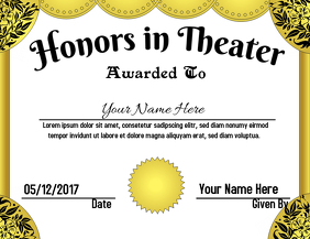 Theater Award