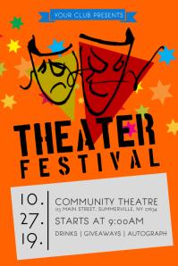 Theater Festival Poster